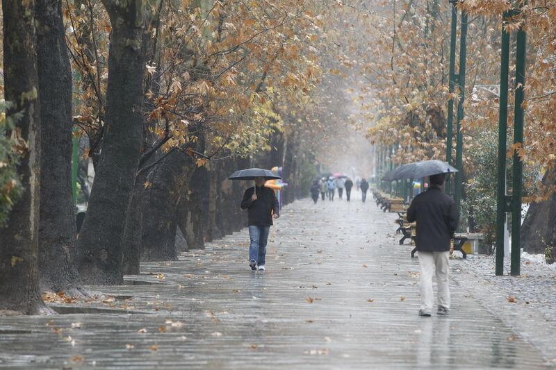سامانه بارشی جدید از روز شنبه وارد کشور میشود
