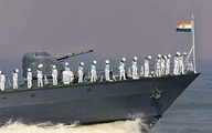 هند نیروی دریایی خود را به  تنگه هرمزاعزام میکند.