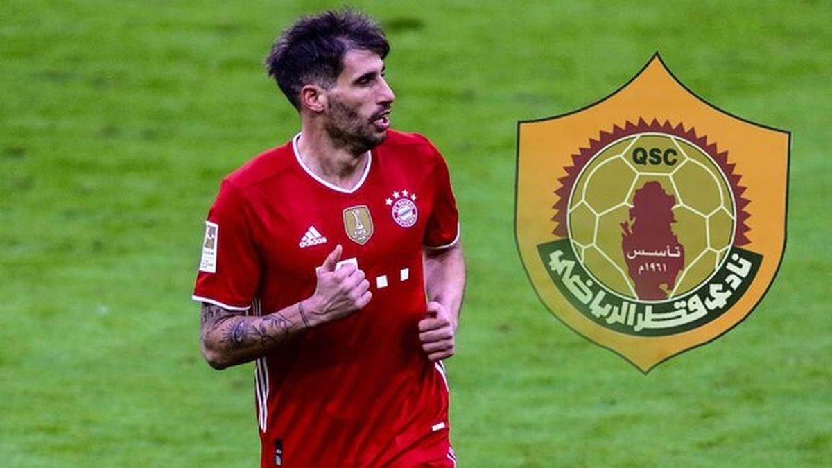مدافع - هافبک اسپانیایی بایرن به لیگ قطر پیوست