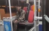 پیدا شدن مرد مُرده در اتوبوس واحد تهران