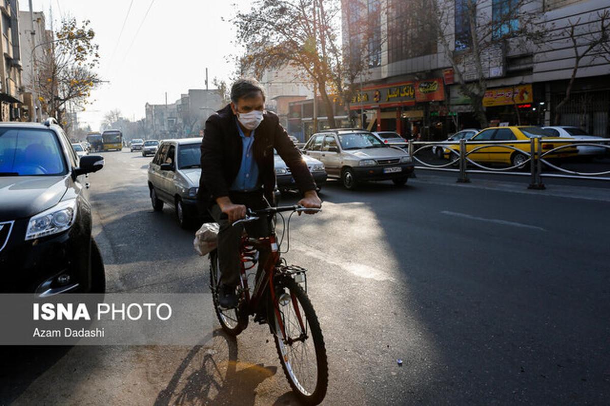 افزایش غلظت «ازن» و کاهش کیفیت هوا در برخی مناطق پایتخت