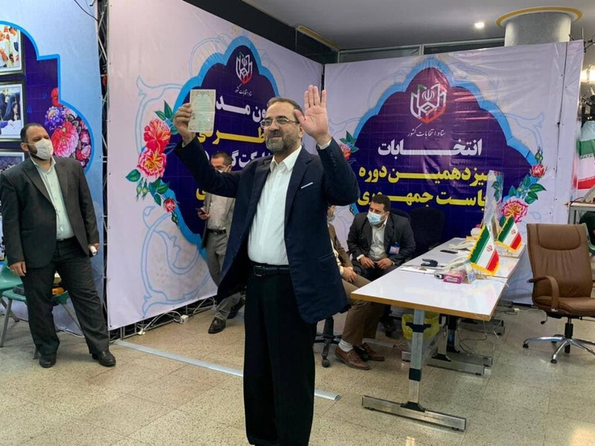 وزیر ورزش احمدی نژاد در انتخابات 1400