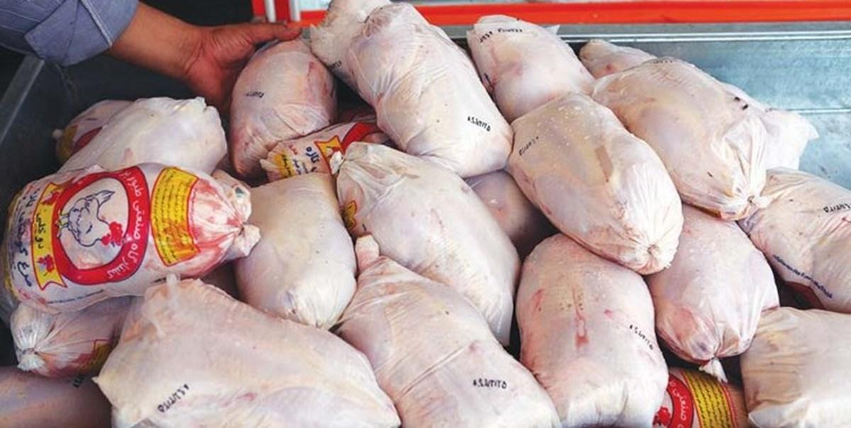 نرخ مرغ منجمد تنظیم بازاری 13500 تومان تعیین شد