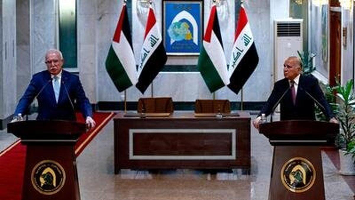 فؤاد حسین: جامعه عراق حامی قضیه فلسطین است| المالکی: مقاومتمان را از ملت عراق میگیریم