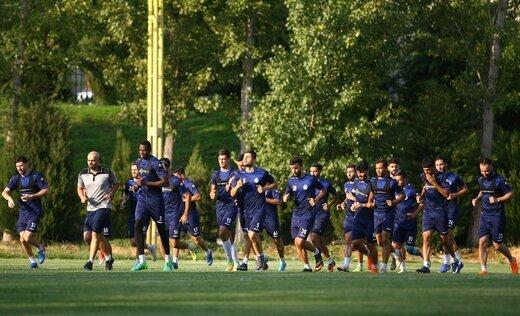 کرونا  |  بازیکنان استقلال دوباره تست کرونا دادند