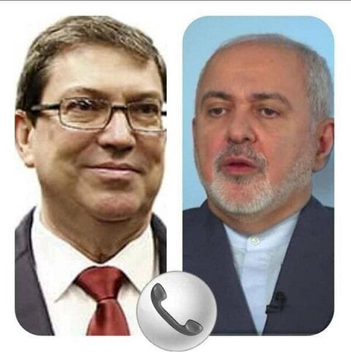 ظریف : هرگونه دخالت خارجی در امور داخلی کوبا مردود است