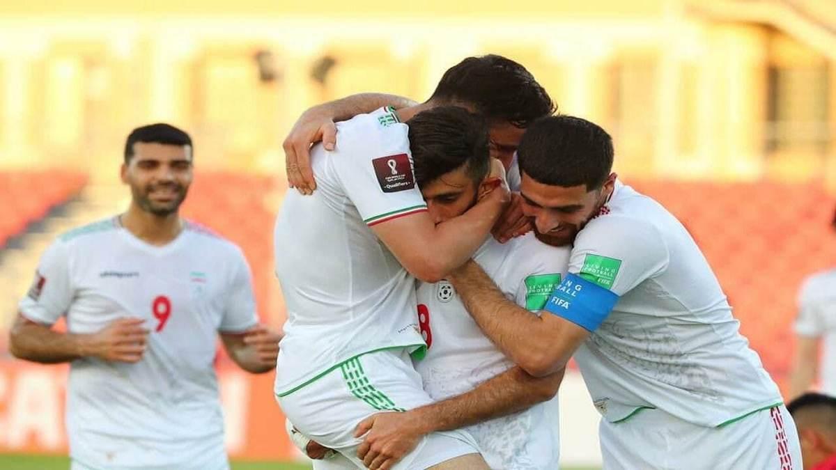 ترکیب تیم ملی فوتبال ایران در بازی  با عراق