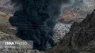 چهارمحال و بختیاری  |   آتش سوزی در خط لوله انتقال نفت و هشدار به مردم