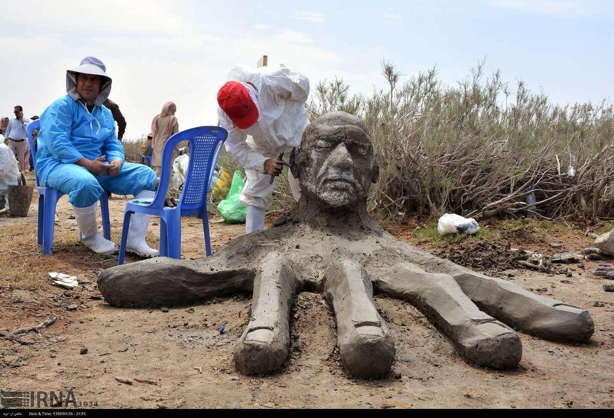 دومین جشنواره ملی مجسمه های نمکی