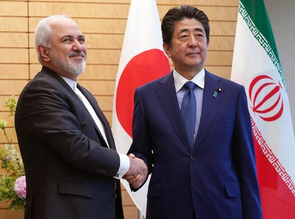 نخست وزیر ژاپن به ظریف: نگرانم که وضعیت در خاورمیانه بسیار پرتنش شود