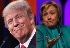 ترامپ جلوتر است یا هیلاری؟