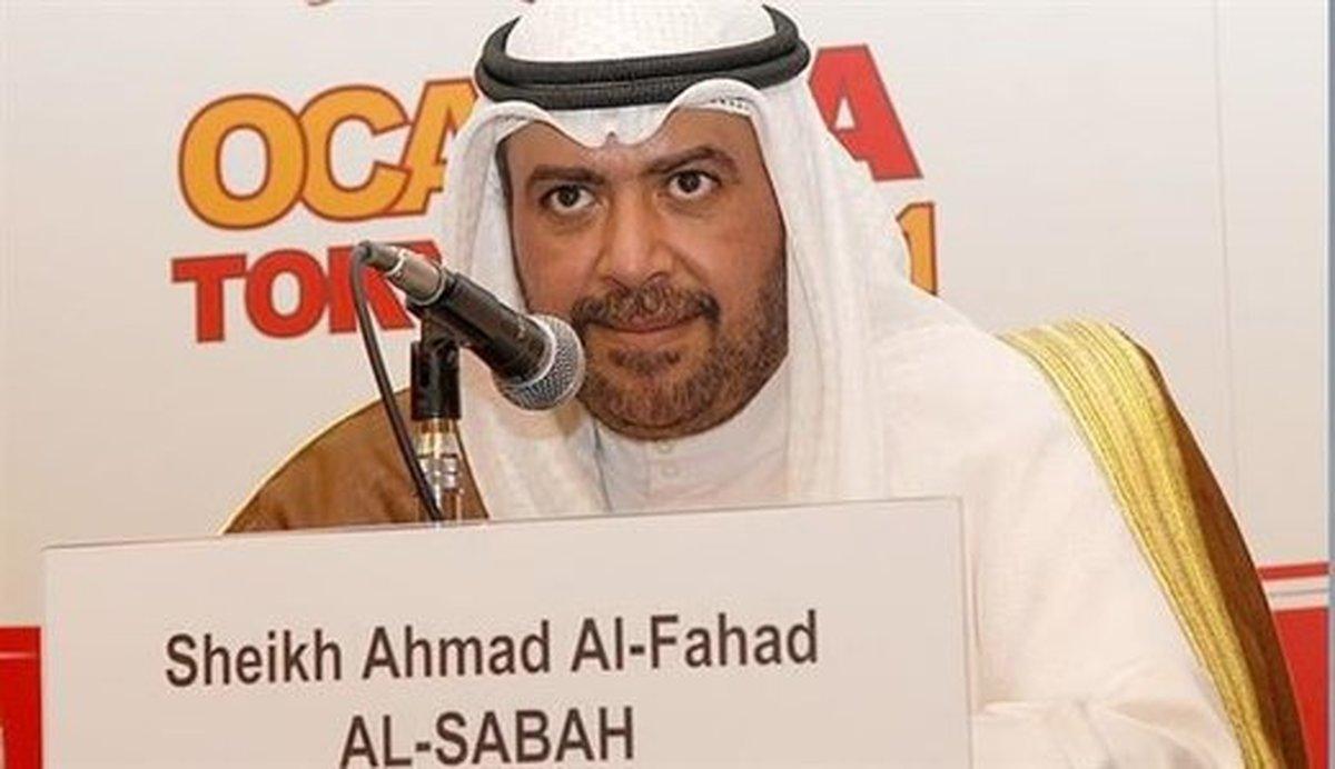 شیخ احمد دوباره رئیس شورای المپیک شد