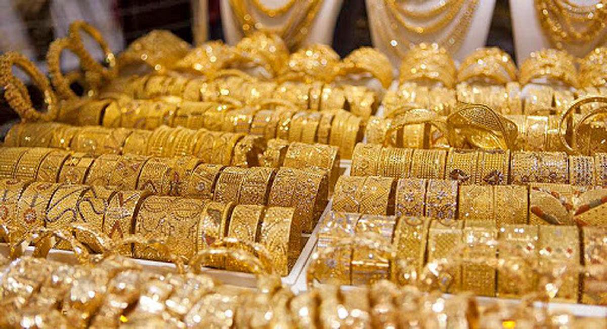 آخرین نرخ گرم طلا ۱۸ عیار    قیمتها پایین آمد