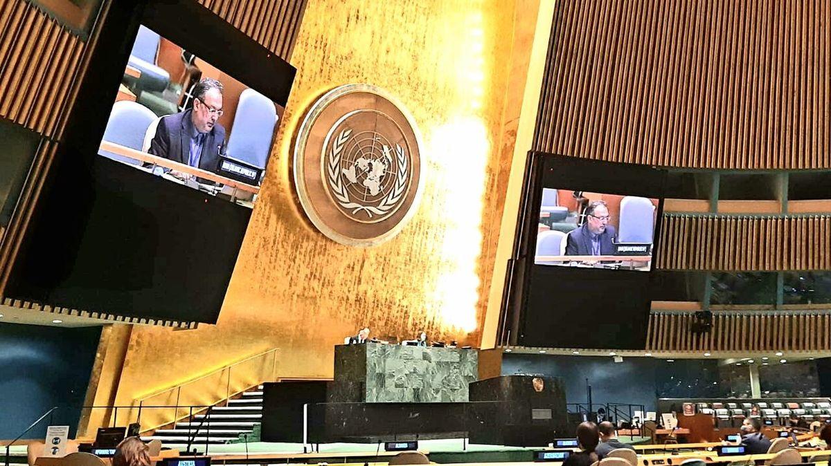 رایزن نمایندگی ایران در سازمان ملل: یکجانبه گرایی از کرونا خطرناک تر است