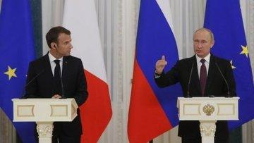 پوتین در دیدار با ماکرون: لغو دیدار آمریکا-کرهشمالی تاسفبرانگیز است