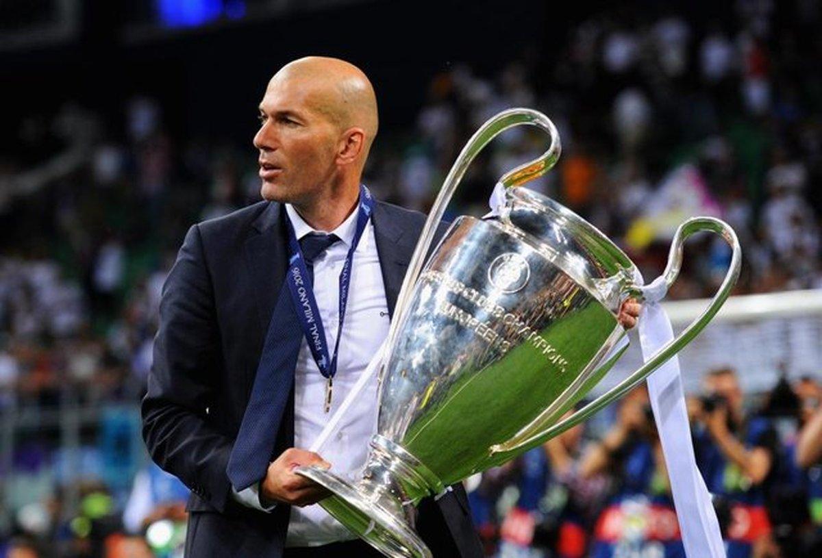 خداحافظی زیدان از رئال مادرید
