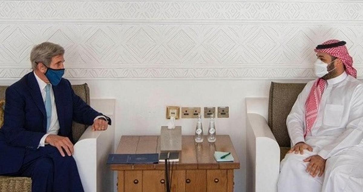 دیدار مهم جان کری با بن سلمان  طرح مسائل مهم در دیدار جان کری با بن سلمان