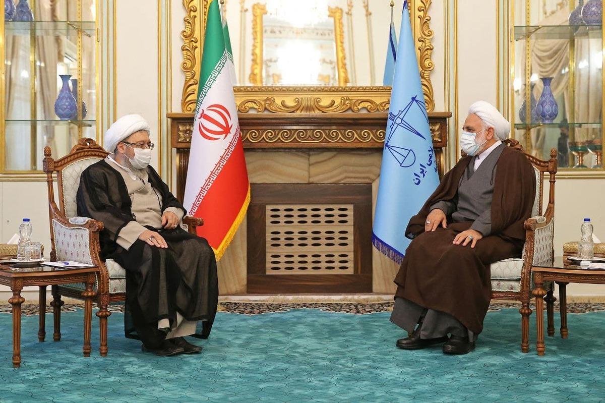 آملی لاریجانی با رئیس قوه قضائیه دیدار کرد