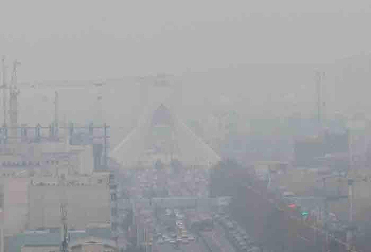 آلودگی هوای تهران تا پنجشنبه ادامه دارد