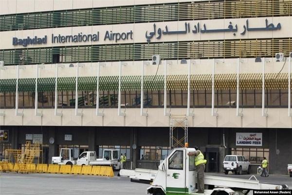 پایگاه نظامی آمریکا در اطراف فرودگاه بینالمللی بغداد هدف حمله راکتی قرار گرفت.