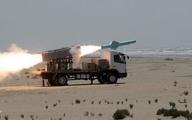 تست موشک جدید نیروی دریایی ایران در شمال اقیانوس هند