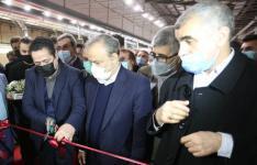 افتتاح واحد تولیدی ریسندگی و بافندگی در شهرک صنعتی ۲ اردبیل توسط وزیر صمت |  اشتغالزایی برای ۸۰۰ نفر با سرمایه گذاری ۱۸۰ میلیارد تومانی