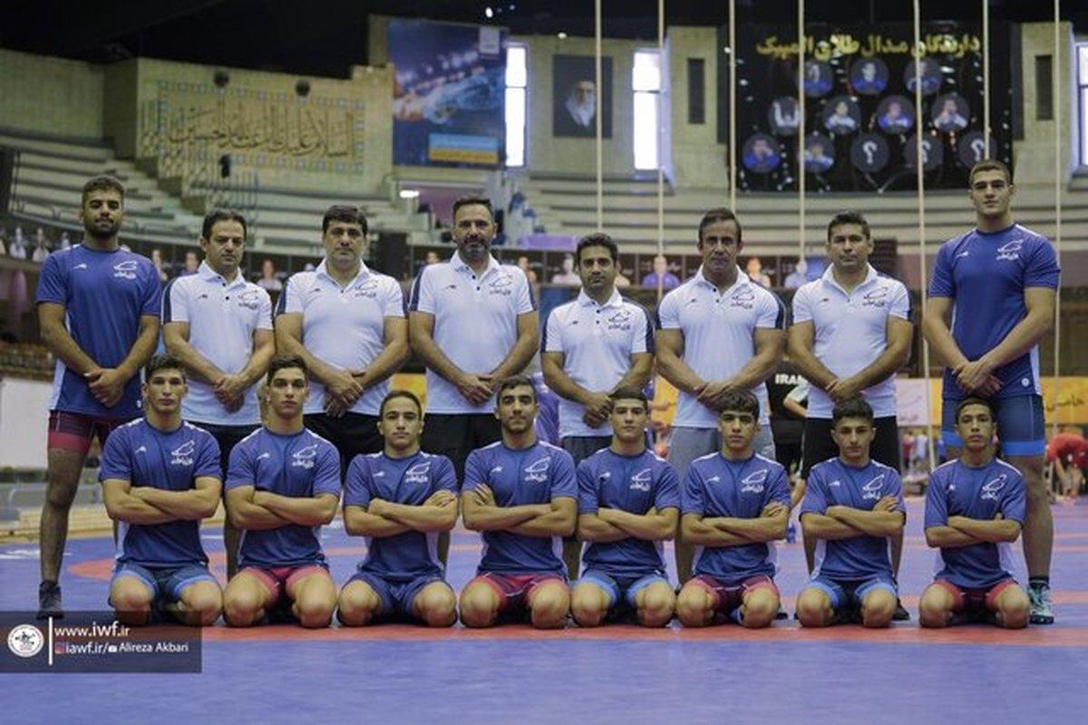 چهارمی ایران در کشتی آزاد نوجوانان جهان با ۳ طلا و یک برنز| هند قهرمان شد