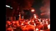 دستههای عزاداری در اراک هم از شب گذشته در خیابانها به راه افتادند! + ویدئو