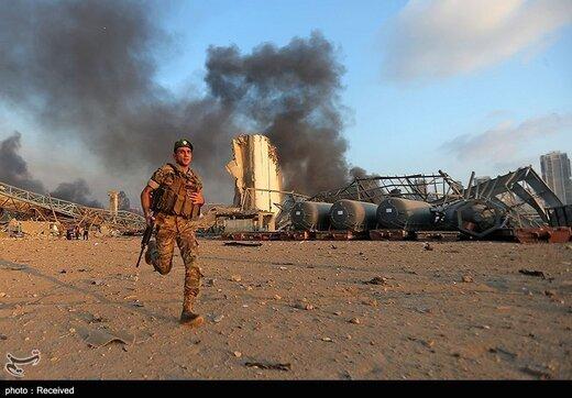 انفجار در بیروت +عکس