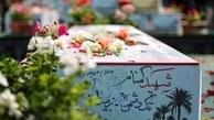 تدفین چهار شهید گمنام جنگ در آذربایجان شرقی