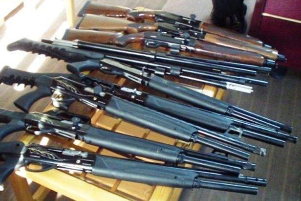 باند قاچاق اسلحه در کرمانشاه منهدم شد