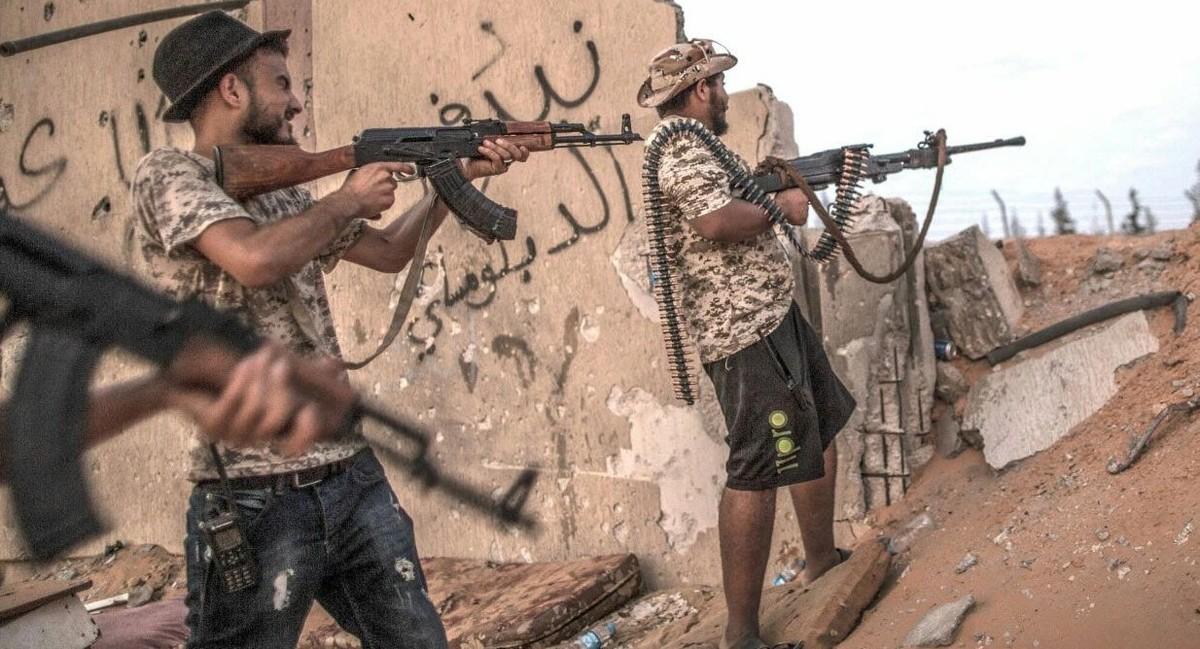 جنگ داخلی در لیبی (مستند)