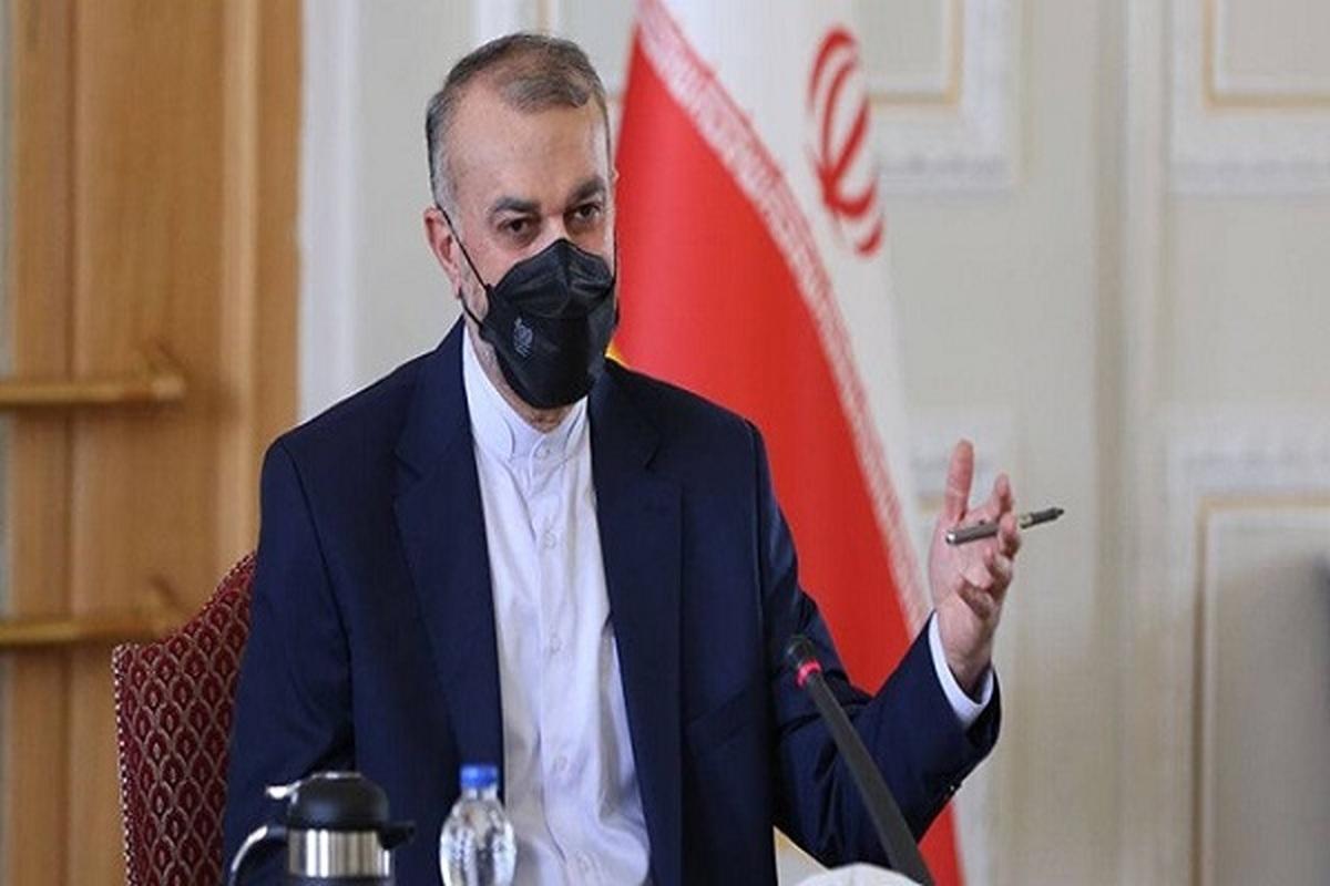 اظهارات مهم  امیرعبداللهیان در نشست اجلاس حمایت منطقه ای از عراق