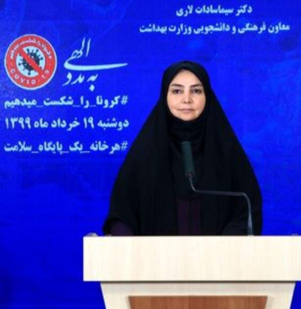 مجموع قربانیان کرونا در ایران از ۶۱ هزار نفر  گذشت