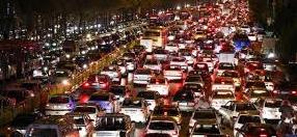 ترافیک نیمه سنگین در ورودی های پایتخت