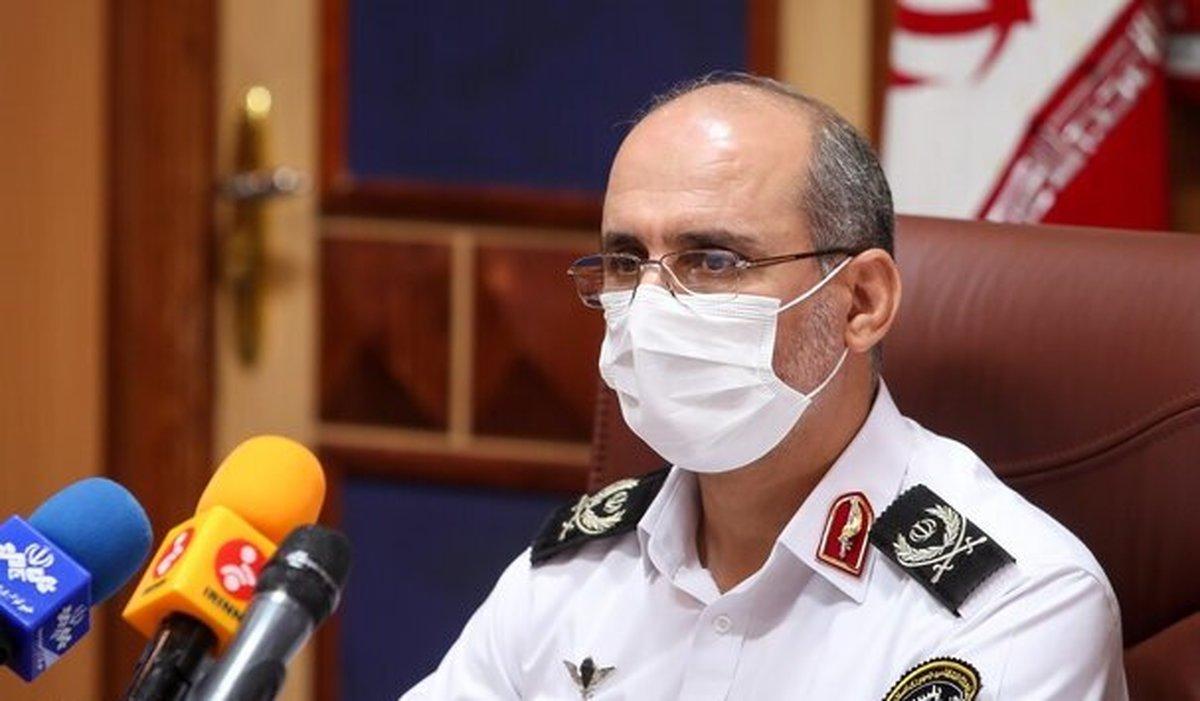 واکسیناسیون ماموران پلیس راهور تهران بزرگ در برابر کرونا