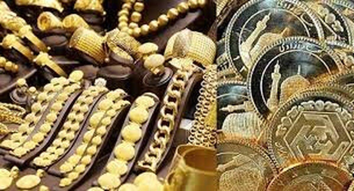 کاهش قیمت سکه و طلا