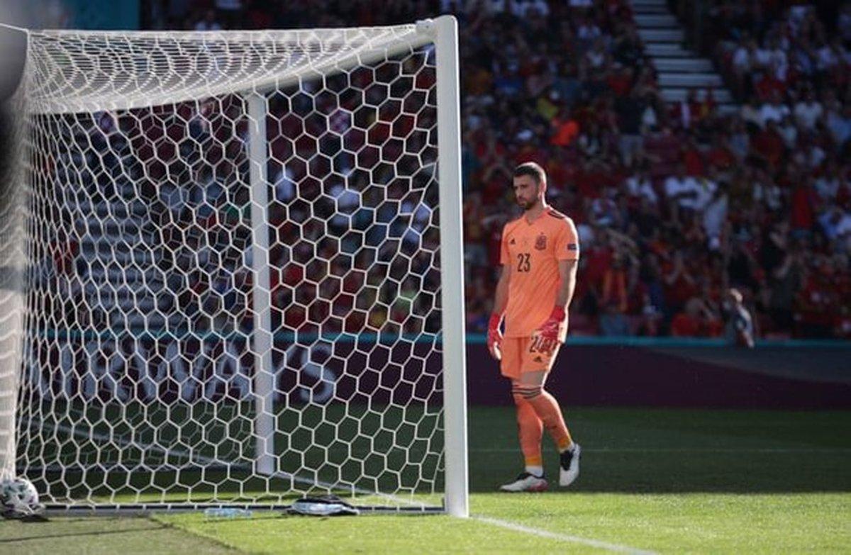تساوی یک نیمه ای اسپانیا مقابل کرواسی با اشتباه وحشتناک