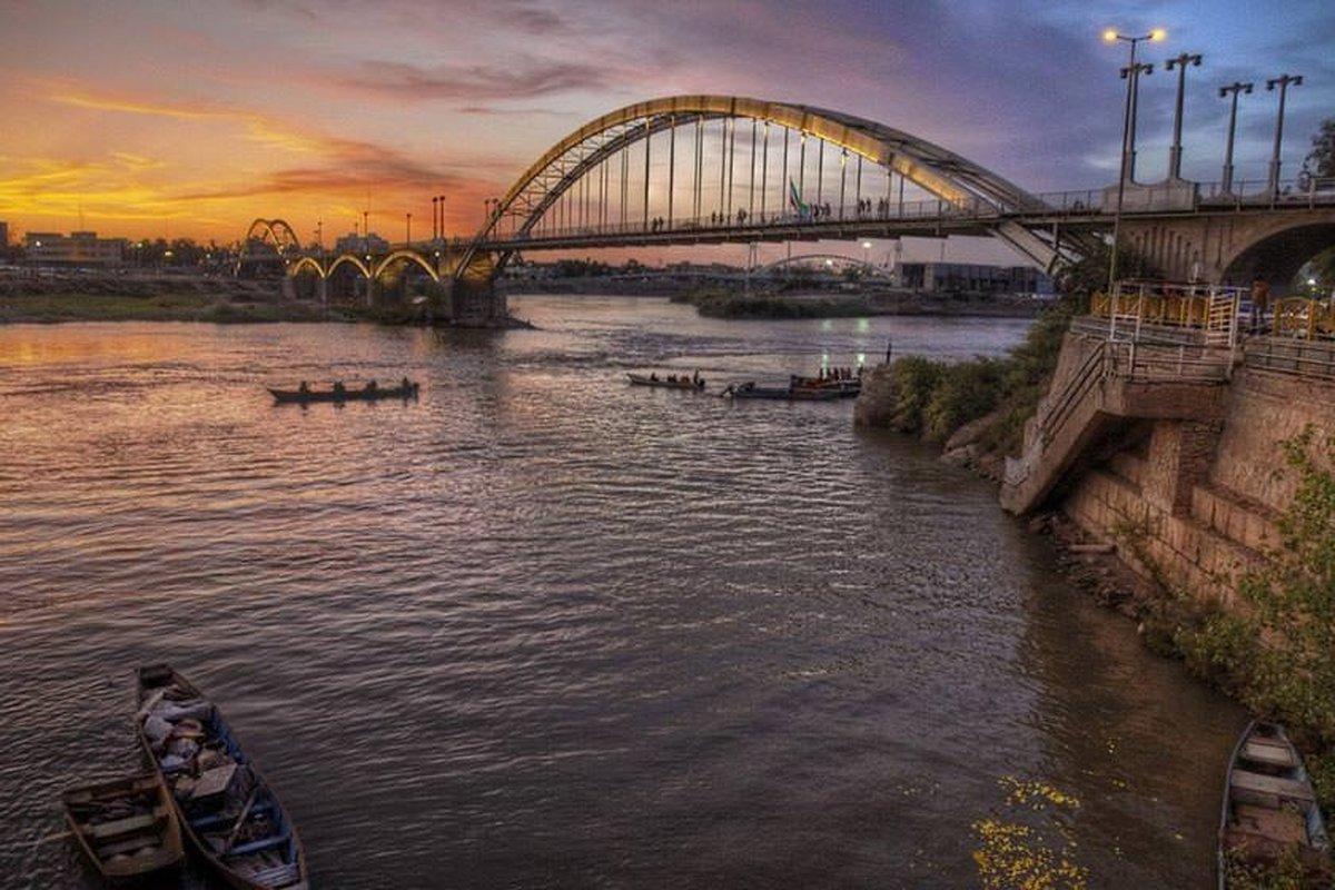 تخلیه پساب کشاورزی در رودخانههای کارون    احتمال فعال شدن کانونهای گرد و غبار در خوزستان