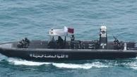 کشتیهای قطر دو قایق وابسته به گارد ساحلی این کشور را توقیف کردهاند.