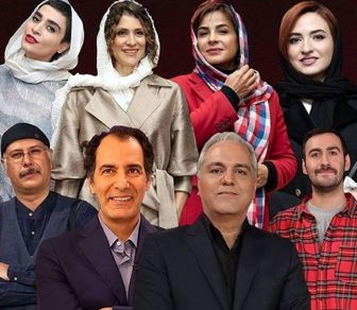 شبکه نمایش خانگی |  استفاده از جذابیتهای جنسی زن درسریال جدید مهران مدیری