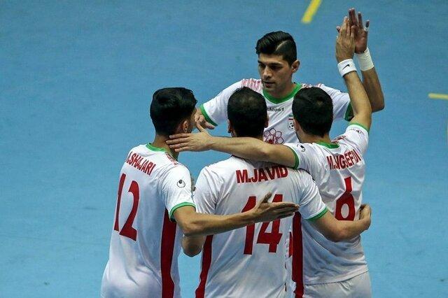 پیروزی تیم ملی فوتسال ایران مقابل آمریکا|کسب دومین برد پیاپی