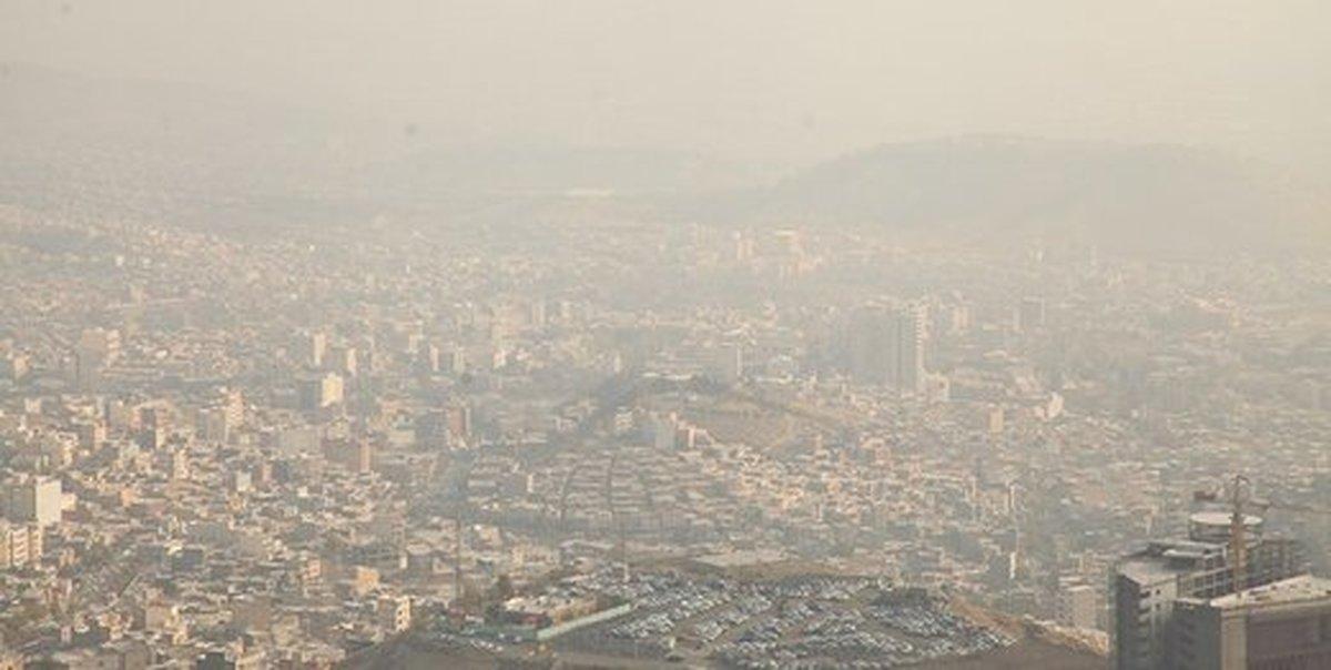 آلودگی هوا به تهران بازگشت |  شاخص