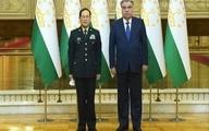 رئیس جمهور تاجیکستان با وزیر دفاع چین دیدار کرد