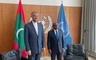دعوت امیر عبدالهیان از ریاست مجمع عمومی سازمان ملل متحد برای سفر به تهران