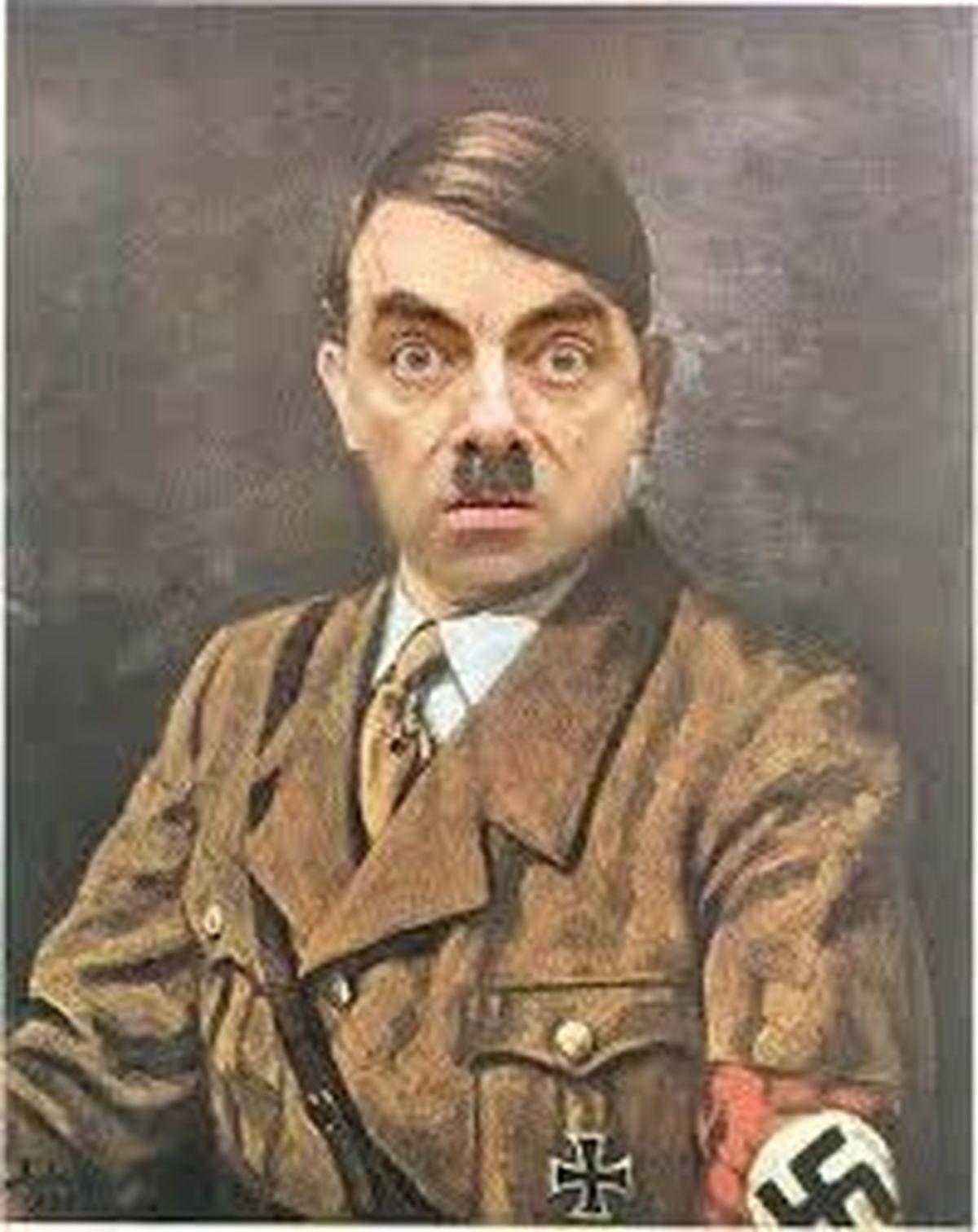 مستر بین  |   یک بازیگر، کمدین نقش هیتلر را بازی میکند