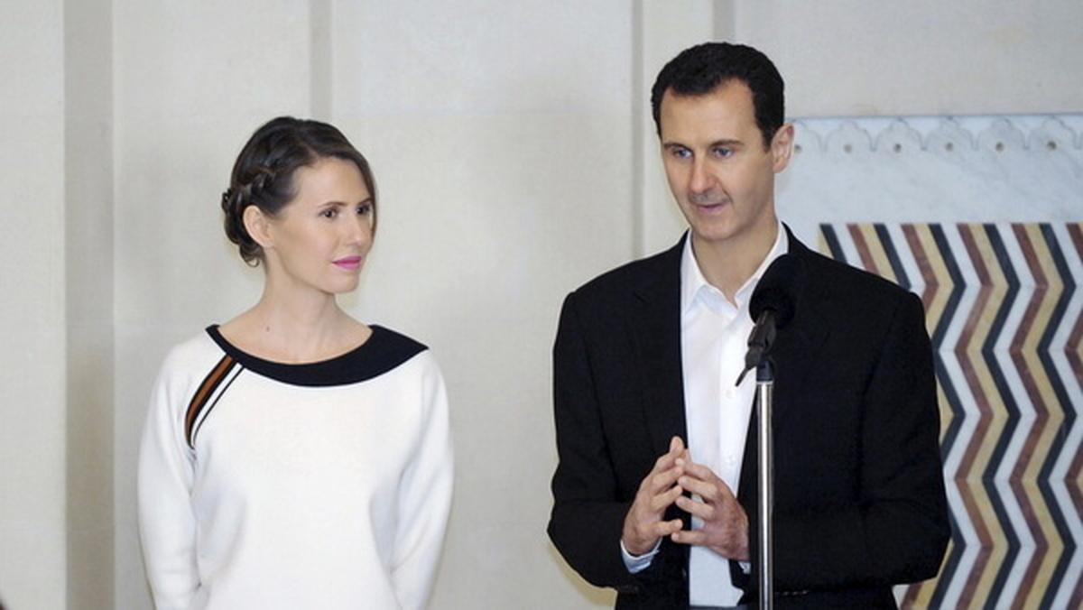 بهبودی کامل رییس جمهور سوریه و همسرش