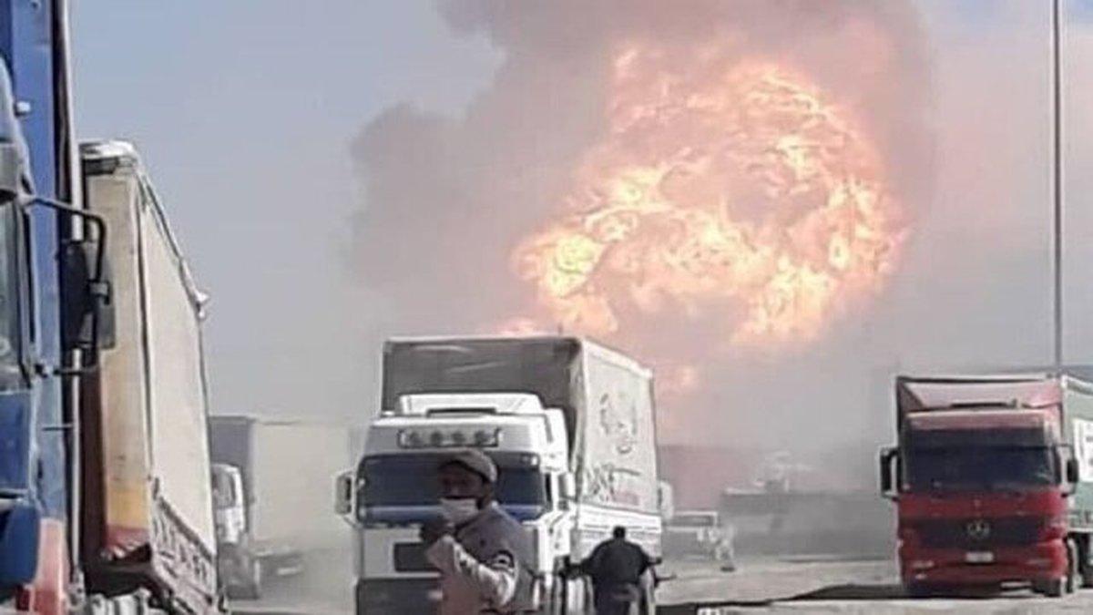 ورود غیرقانونی افراد به ایران در پی انفجار گمرک اسلام قلعه صحت ندارد