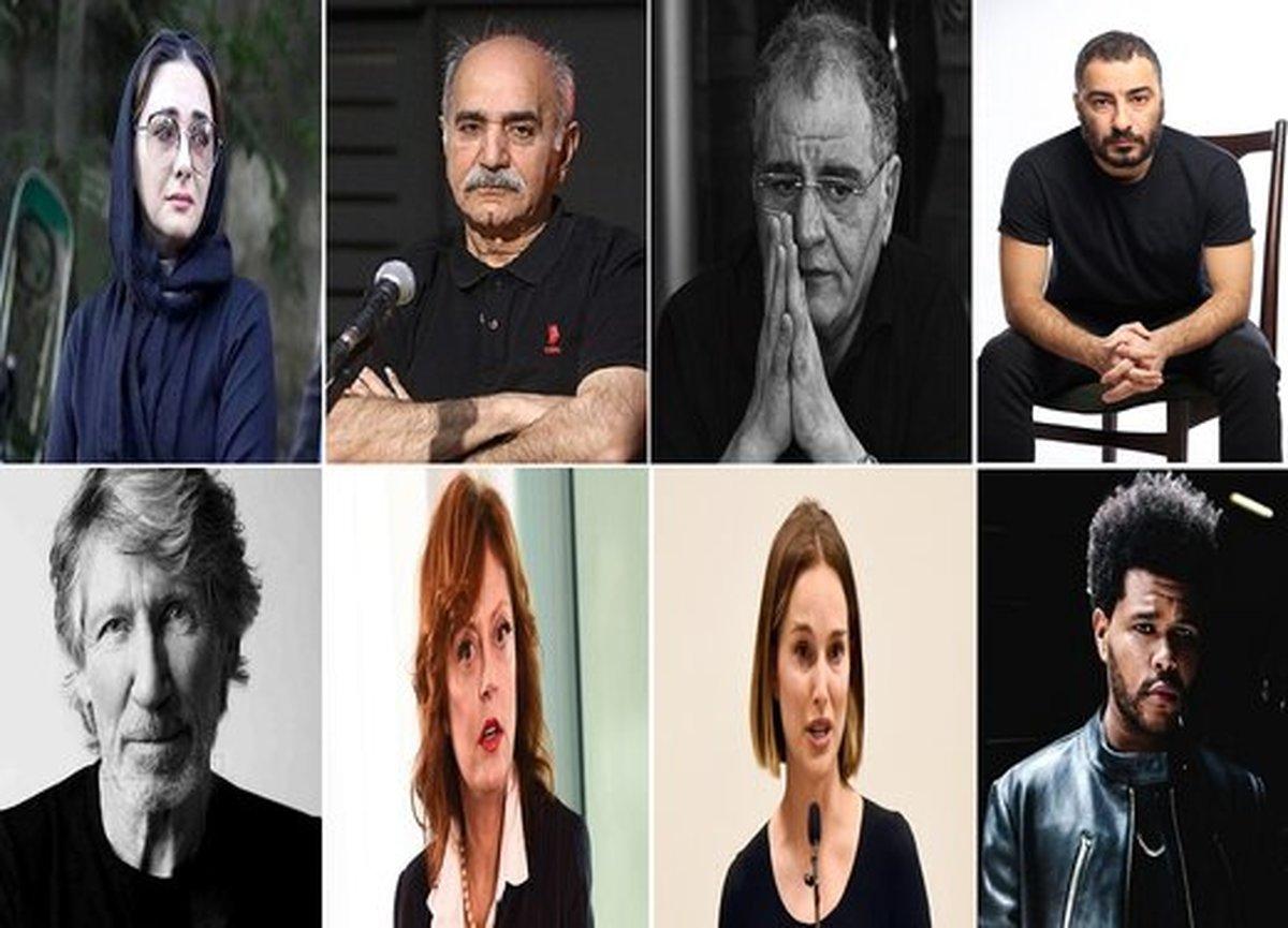 اعتراض هنرمندان به آنچه این روزها در فلسطین میگذرد