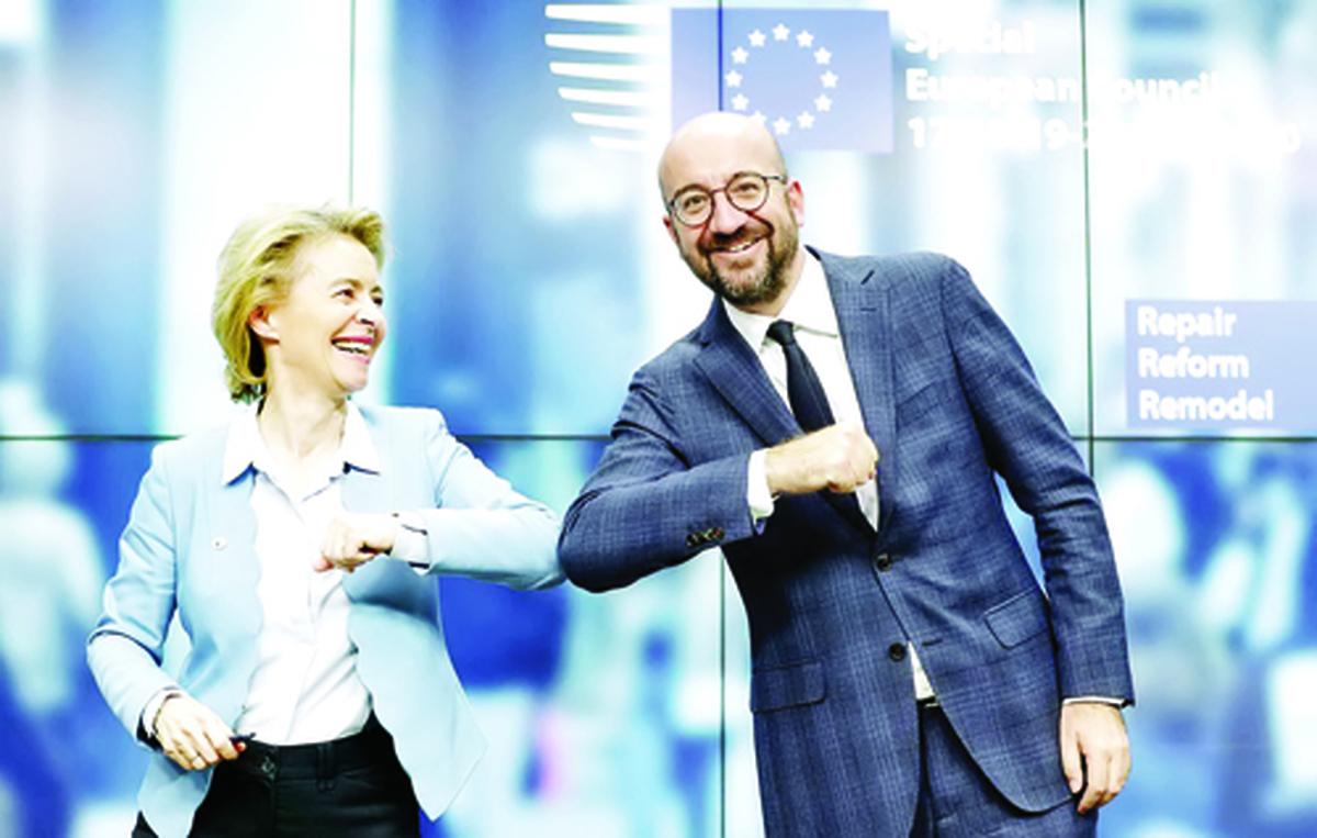روز تاریخی اروپا | ٢٧ کشور عضو اتحادیه اروپا بر سر بسته احیای اقتصادی به توافق رسیدند